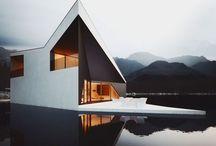 ☁️ a r c h i t e c t u r e ☁️ / Architecture, exterior, modern, minimalist