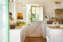 Farm Kitchens / Beautiful examples of farm country kitchens which illustrate why they truly are the heart of the home.  / by Tri-Lamb Group