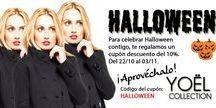 HALLOWEEN EN YOEL / Ofertas y sugerencias para crear tus looks de halloween