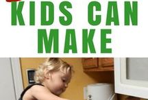Cooking with Kids / Get your kids in the kitchen and teach them to cook! Cooking with kids teaches them a ton of life skills and it's fun! Kid's recipes.