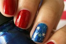 Beauty: Nail Art & Design / A collection of sparkling nail designs.