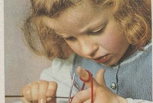Knitting/spinning/weaving