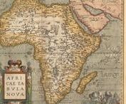 """The Black Continent / Up until the 19th century Africa was known as the """"Dark Continent"""" not for the color of native skin but for the mystery that surrounded this continent since little was known about it. Well, i paraphrased this title and now Africa became my ... Black -yet so colourful- Continent!"""