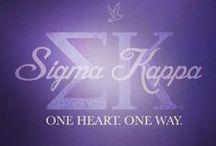 Sigma Kappa / by Ashleigh Dreher