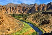 Our Backyard / Our brewery is on the banks of the scenic and wild Deschutes River in downtown Bend, OR. We're proud to be part of the outdoor community that inspires us to be bold and