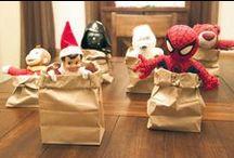 Holidays ~ Christmas ~ elf on the shelf! / by Jill Wilson