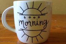 Let's paint: mugs!