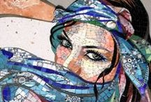 MOSAIC ARTISTRY / SUCH TALENT AND CREATIVITY!  BEAUTIFUL DESIGNS AND GREAT COLOR / by Paula W