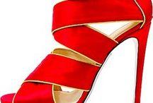 Shoe la la / Walking high in the fashion shoe world / by Scarves by ANNE TOURAINE™