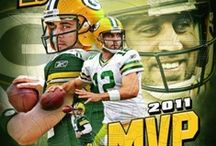 AWESOME AARON RODGERS / Simply the best in the NFL!  Green Bay is lucky to have him as their quarterback and team leader! / by Paula Wedger