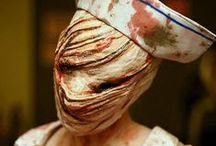 Terror, horror y miedo / Fotografías e imágenes relacionadas con películas de terror y la temática del miedo. Disfraces para fiestas, temática zombie y maquillajes de terror. / by soyunalbondiga