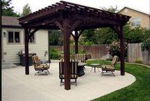 Western Timber Frame Pergolakit On Pinterest