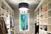 Home: Closets / Someday...I'll get to my closet makeover! I've already got the chandelier and these are some fabulous closet ideas.