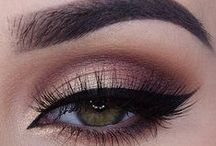 EYES / Our Eyes can speak so loudly, let them stand out, find the right colours for everyday, evening and glam!