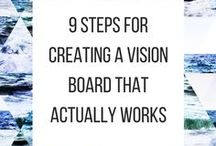 Business: Vision Boards / Find inspiring tips for creating your own vision board.