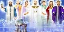 Ascended Masters/Beings of Light / Ascended Masters and Beings of Light.  Reach out and connect with them at any time ... draw on their great wisdom and guidance.  To all beautiful Beings sharing their Light in the world, thank you.  Namaste