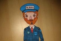 i love my mailman / by kimberly AH