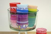 Cupcake Liners / Perfect wrapping for the perfect present! Dress up your cupcakes with these unique cupcake liners.