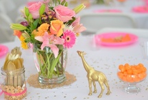 BABY SHOWER / Baby shower ideas, baby shower party ideas, baby shower themes, vintage baby shower, cute baby shower ideas