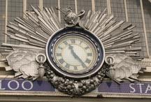 Tick, Tock.... I LOVE Clocks! / by Susan Hurtt Hussien