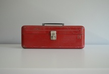 little red toolbox / by kimberly AH
