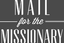 Things for Missionary's. / by Majerle Zundel