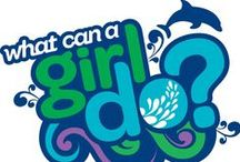 Girl scouts! / I LOVE GIRL SCOUTS! / by Emily
