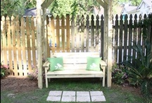Backyard Paradise / Great projects to bring you outdoors during the Spring and Summer seasons! And these don't require a green thumb!