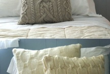 Home ~ coussins & plaids / by Charlotte Pinson