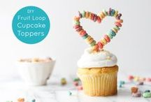 DIY & Other Cupcake Toppers / Cupcake toppers you can make yourself or toppers you can buy.