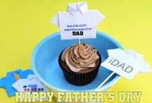 Father's Day Cupcakes by Cupcake Project Pinterest Explorers / Surprise Dad with these yummy Father's Day Cupcakes!  This board is curated by the Cupcake Project Pinterest Explorers. Learn how to join here: http://www.cupcakeproject.com/join-the-pinterest-explorers. Our mission is to scout, pin, and share cupcake fun! / by Cupcake Project
