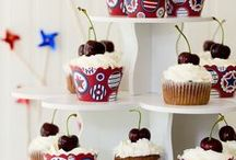 Celebrate July 4th / Dessert inspiration for the 4th of July!