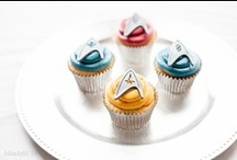 Cupcakes of Geek-A-Lot / Superheros, Star Wars, Star Trek - geeks and nerds unite! Over cupcakes, of course!