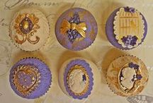 Vintage Inspired Cupcakes by Cupcake Project Pinterest Explorers / A beautiful collection of vintage inspired cupcakes.   This board is curated by the Cupcake Project Pinterest Explorers. Learn how to join here: http://www.cupcakeproject.com/join-the-pinterest-explorers. Our mission is to scout, pin, and share cupcake fun!  / by Cupcake Project