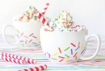 Desserts with Sprinkles! / Sprinkles you make, sprinkles you buy and, of course, cupcakes with sprinkles on them!