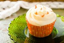 Carrot Cupcakes by Cupcake Project Pinterest Explorers / Not just for bunnies anymore.  This board is curated by the Cupcake Project Pinterest Explorers. Learn how to join here: http://www.cupcakeproject.com/join-the-pinterest-explorers. Our mission is to scout, pin, and share cupcake fun!  / by Cupcake Project