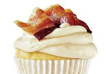 Bacon Cupcakes by Cupcake Project Pinterest Explorers / Bacon is good.  Cupcakes are good.  Of course they go together.  This board is curated by the Cupcake Project Pinterest Explorers. Learn how to join here: http://www.cupcakeproject.com/join-the-pinterest-explorers. Our mission is to scout, pin, and share cupcake fun!    / by Cupcake Project