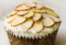 Almond Cupcakes by Cupcake Project Pinterest Explorers / You say alllmond, I say aaaaahmond, let's all make cupcakes!  This board is curated by the Cupcake Project Pinterest Explorers. Learn how to join here: http://www.cupcakeproject.com/join-the-pinterest-explorers. Our mission is to scout, pin, and share cupcake fun!    / by Cupcake Project