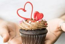 Celebrate Valentine's Day / Sweets for your sweet in cupcake form.