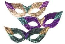 Mardi Gras 2017 / Wearing masks and celebrating Mardi Gras go together like beans and cornbread. Whether you choose a classic black Venetian mask or a silver zanni style masquerade mask, don't leave home without something to cover your face on Mardi Gras.