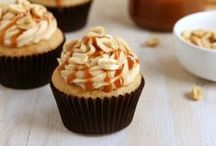 Peanut Butter Cupcakes by Cupcake Project Pinterest Explorers / Peanuts beat into creamy (or chunky) submission and then highlighted in a cupcake.  This board is curated by the Cupcake Project Pinterest Explorers. Learn how to join here: http://www.cupcakeproject.com/join-the-pinterest-explorers. Our mission is to scout, pin, and share cupcake fun!  / by Cupcake Project