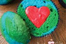 Celebrate Earth Day / Cupcakes dedicated to Earth Day on April 22nd.