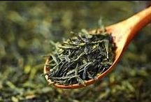 Green Teas / This is a selection of our delicious healthy loose leaf green teas.