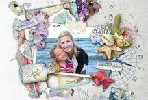 Dawn Inskip Creative Team / Inspirational digital & hybrid scrapbooking layouts, art journals, planners and other paper crafting projects - by Dawn Inskip's Creative Team.