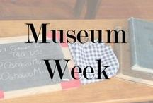 MuseumWeek / A worldwide cultural event on Twitter! Every day brings a new hashtag, a new theme to celebrate Museums and highlight what amazing places they are.