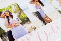 Save The Date's / Gorgeous save the date cards professionally printed in Australia.