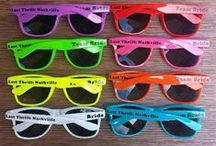 Custom Sunglasses Decal Fast Ship! / 1-144 Personalized, Customized Promotional Sunglasses are great for destination weddings, weddings, bachelorette and bachelor parties, outside concerts, photo booth props, birthday parties, sweet 16's, Dance Team Competitions, Cheerleading Teams, Cheer Camps and many other events for business such as marketing events, business events, Company Outings, company events and tradeshows. We know, we been customizing sunglasses for 9 Years!