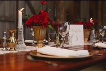 Wedding Inspo - Marsala Red