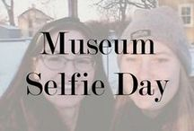 Museum Selfie Day! / Held every January, Museum Selfie Day is a chance for visitors to share snaps from different museums and for museum staff to have fun and show off their site!