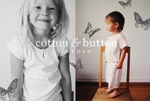 Cotton & Button Sweden / Swedish brand of children's sleepwear. 100% organic cotton.